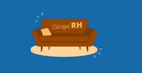 visuel canapé RH entretien professionnels outil de management crise
