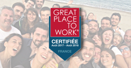 Certification Great Place to Work 2017