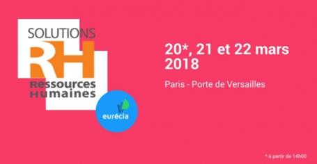 Eurécia sera au Salon SRH 2018