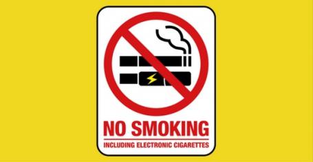 Interdit de fumer et de vapoter sur le lieu de travail
