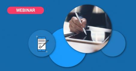 Webinar signature électronique