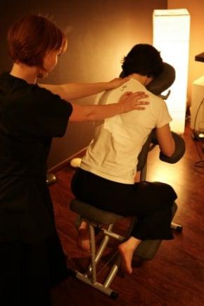 Massage en cours