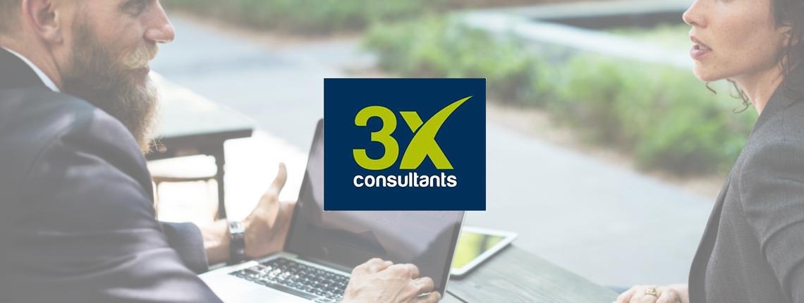 Témoignage client 3X Consultants header