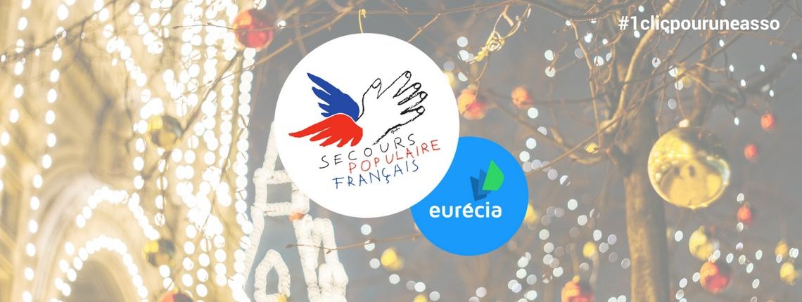 Eurécia s'engage auprès du Secours Populaire