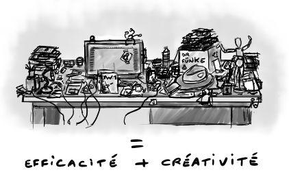 Le chaos au service de la créativité en entreprise