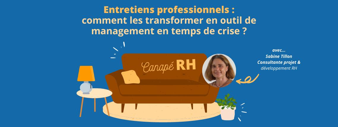 visuel canapé RH entretiens professionnels : outil de management