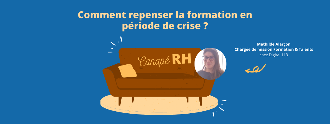 Illustration du prochain webinar rh sur repenser les formations en temps de crise