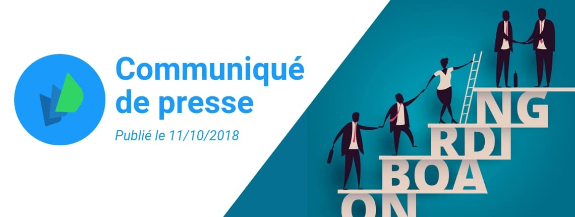 Communiqué de presse fonctionnalité Onboarding Eurécia