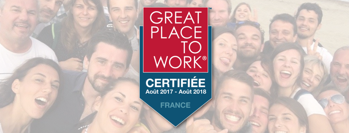 Certification Great Place to Work 2017 h