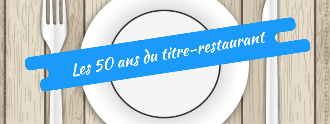 Infographie : les 50 ans du titre restaurant h