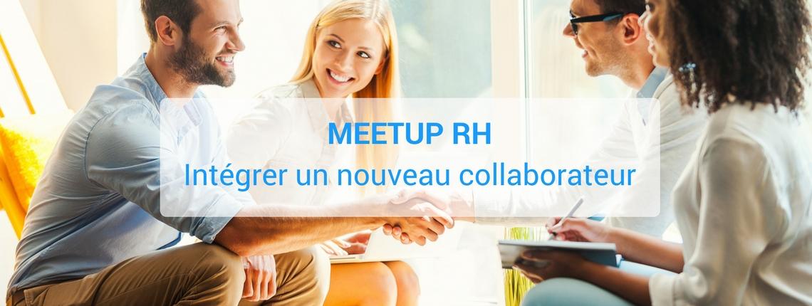 Meetup RH : intégrer un nouveau collaborateur