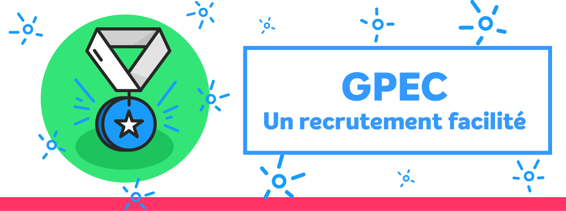 Un recutement simple et efficace grâce à la GPEC