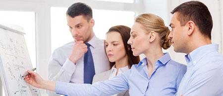 En photo : l'efficacité de votre personnel est accrue avec le logiciel timesheet d'Eurécia