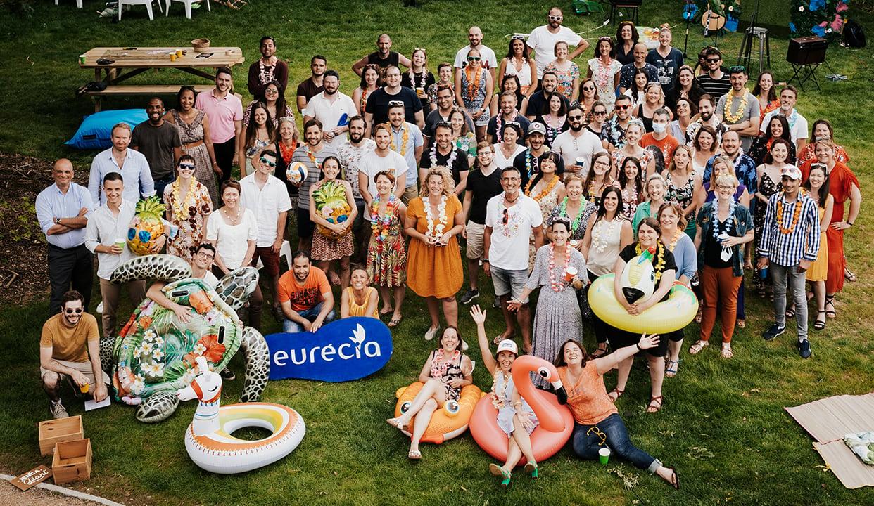photo des équipes d'eurecia