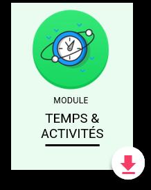 Fiche produit Temps & Activités