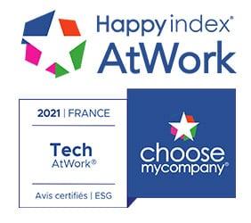 Eurécia est certifiée HappyAtWork