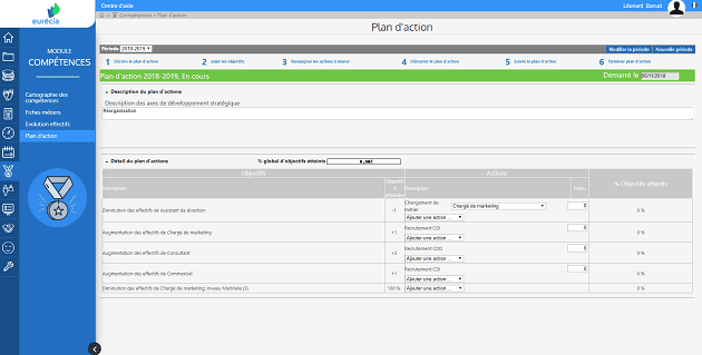 module competences screenshot 2