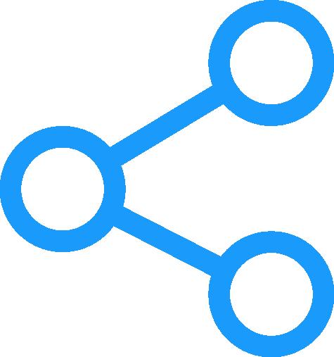 Illustration du bouton partage pour partager une formation Eurécia