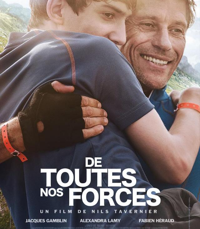 """Affiche du film """"De toutes nos forces"""""""