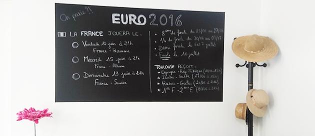 Football Euro 2016 au bureau